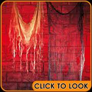 creepy display cloth woolworths halloween