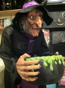 Asda Halloween Whilhamena witch