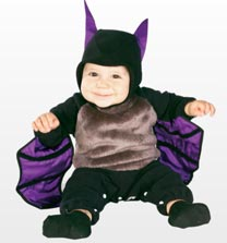 Baby Bunting u0027Lil Bat available from Jokeru0027s Masquerade for £12.99. baby halloween costumes ...  sc 1 st  Halloween-errific & 5 Cute Baby Halloween Costumes | Halloween-errific
