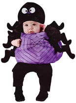baby halloween costumes silly spider