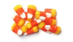 candy corn halloween treats