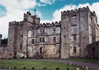 haunted hotels chillingham castle