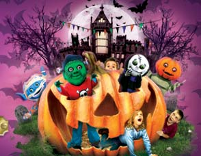 Alton Towers kids halloween