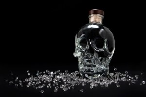 Crystal head vodka halloween drink spirit
