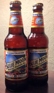 Blue Moon Harvest ale pumpkin beer