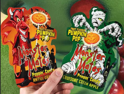 Monster Mates Fruit flavoured Pumpkin pop
