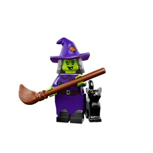 Lego Monsters Minifigure witch