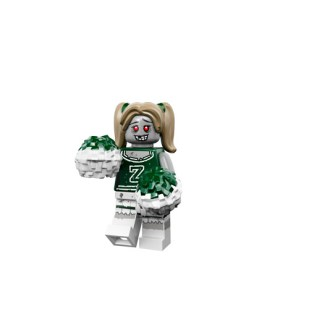 Lego Monsters Minifigure zombie cheerleader