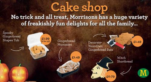 Morrisons Halloween 2015 food