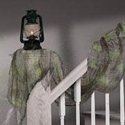 grey drape gause