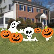 family friendly yard signs halloween