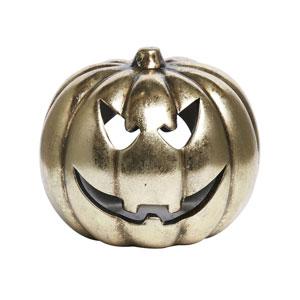 Wilko Halloween 2017 gold pumpkin