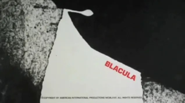 🎥 Blacula Animated Intro (1972) 1