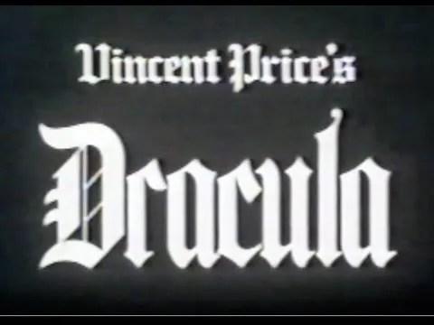 🎥 Vincent Price's Dracula (1982) 1