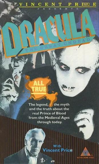 🎥 Vincent Price's Dracula (1982) 3