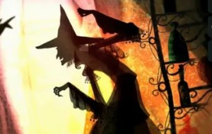 Halloween e-card (a Witches Tale)
