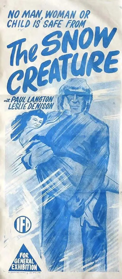 🎥 the Snow Creature (1954) 3