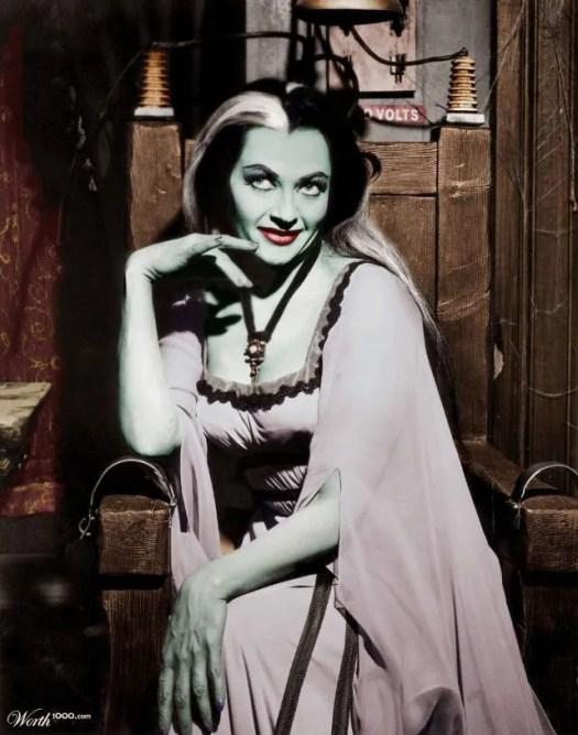 📷 Amazing Color Photos of Lily Munster, Yvonne De Carlo 5