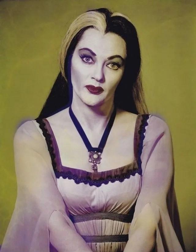 ? Amazing Color Photos of Lily Munster, Yvonne De Carlo 2