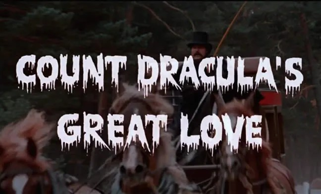🎥 Count Dracula's Great Love (1972) FULL MOVIE 1
