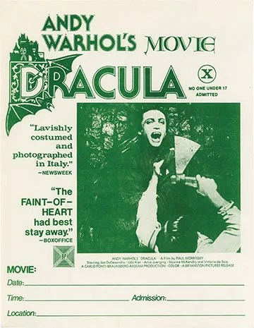Andy Warhol's Blood for Dracula (1974) FULL MOVIE 5