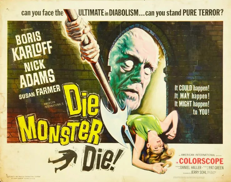 🎥 Die, Monster, Die (1965) FULL MOVIE 80