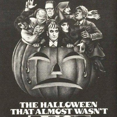 classic halloween monster ad
