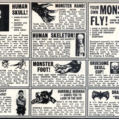 Classic and Vintage Halloween Publication Ads 5