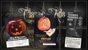 Classic and Vintage Halloween Publication Ads