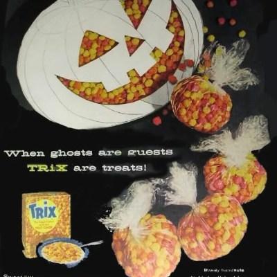 Trix Cereal Halloween