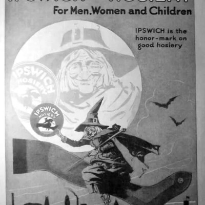 Classic and Vintage Halloween Publication Ads 18