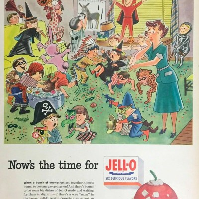 Classic and Vintage Halloween Publication Ads 26