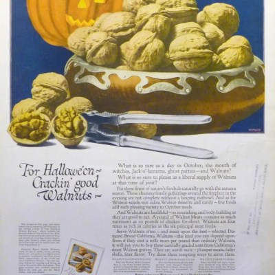 Classic and Vintage Halloween Publication Ads 30