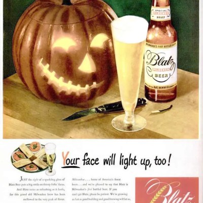 Classic and Vintage Halloween Publication Ads 12