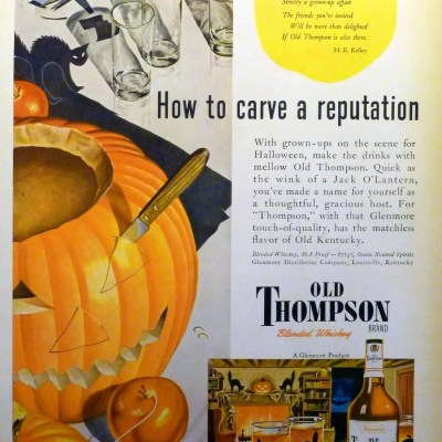 Classic and Vintage Halloween Publication Ads 8