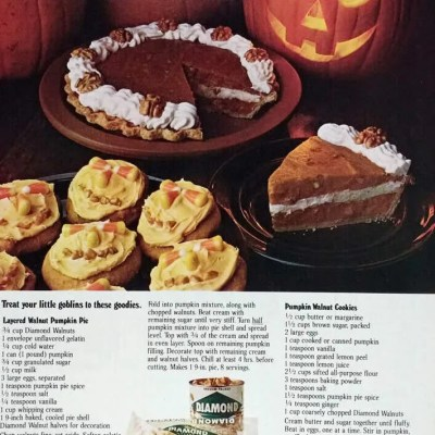 Classic and Vintage Halloween Publication Ads 28