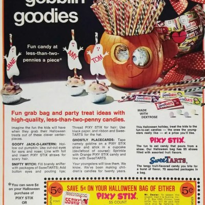 Halloween advertisement ad