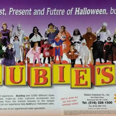 Halloween advertisement ad Rubie's