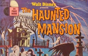 Disney's The Haunted Mansion Read-Along Record (1970)