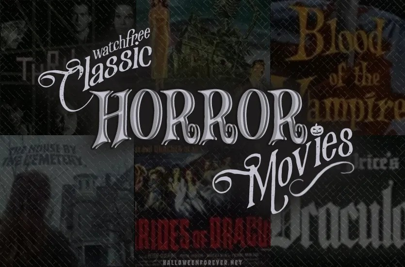 the Blood is the Life - Classic Haunt, Classic Horror Movies