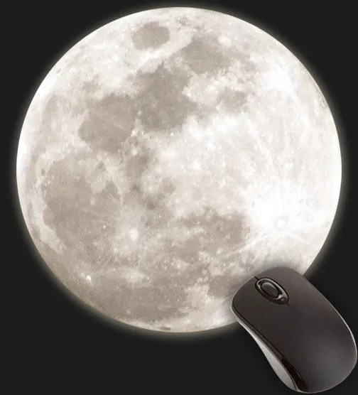 Halloween Forever Full Moon Mouse Pad