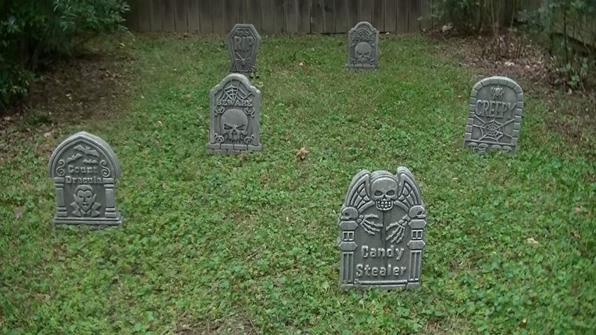 Upgrade Your Cheap Dollar Store Halloween Tombstones For Your Graveyard