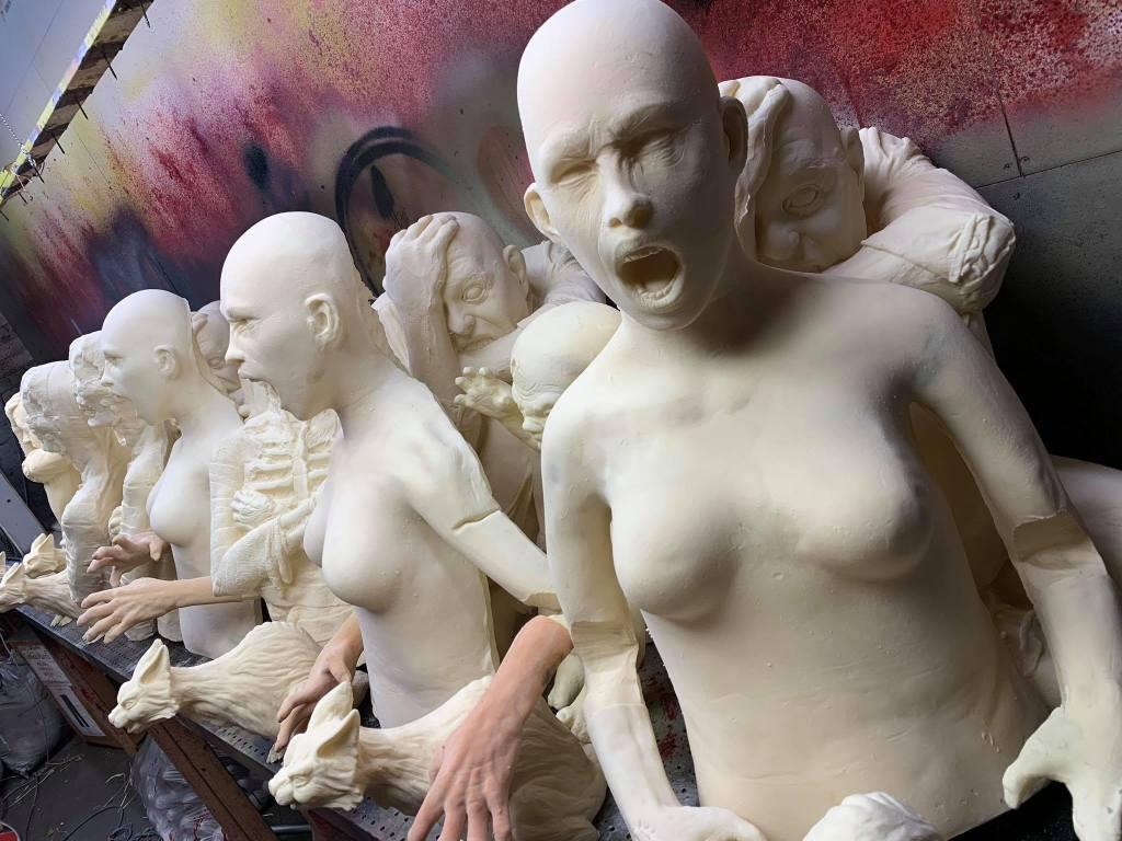 Halloween Asylum props 2