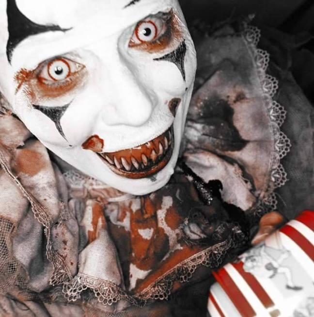 dark stitches clown
