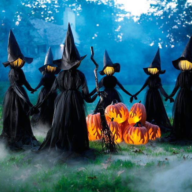 grandin road dragin outdoor witches decor