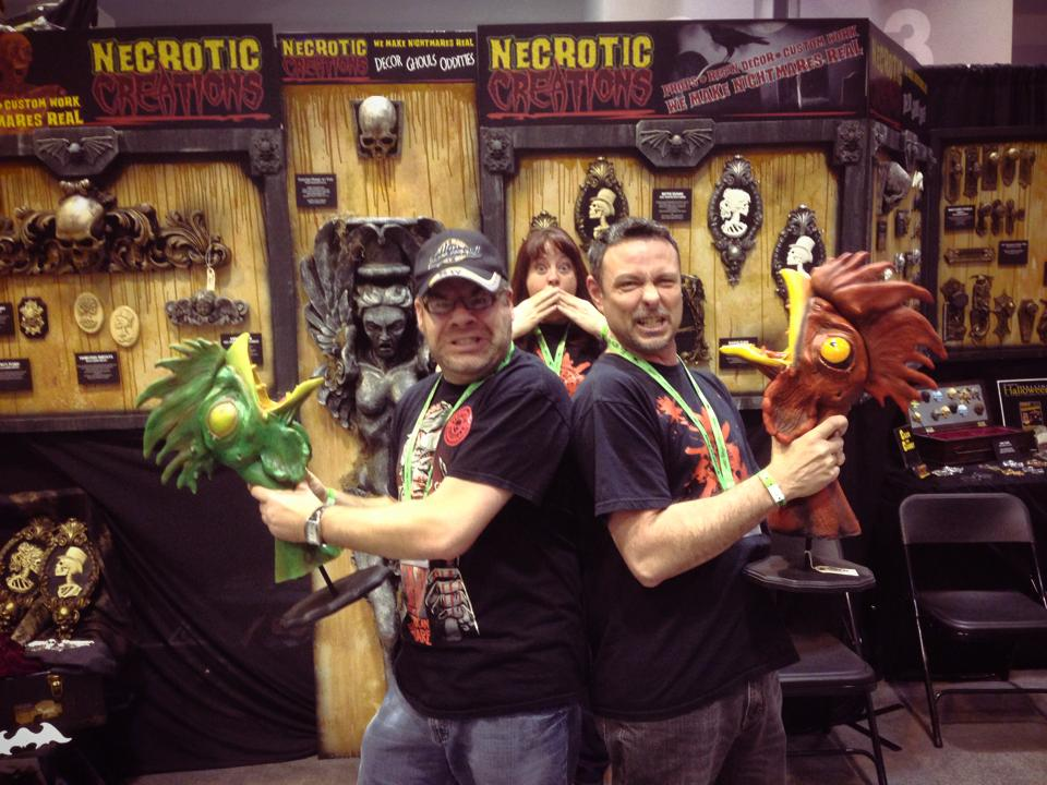 Necrotic Creations Expo Booth