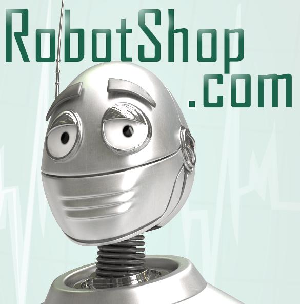 RobotShop Animatronic Parts And Accessories Logo