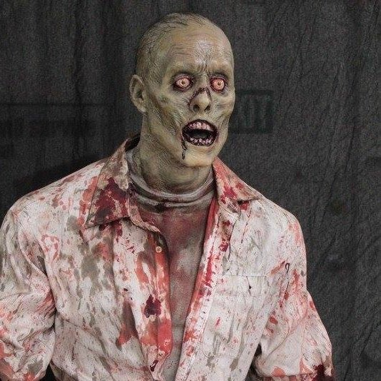 haunted props zombie
