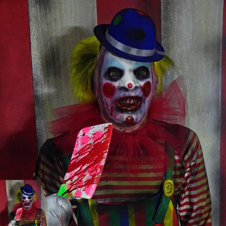 haunted props clown