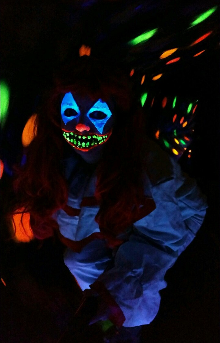 Fear Forest Haunted House and Trail Blacklight